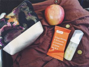 Healthy Snacks + Hand Sanitizer + Layers